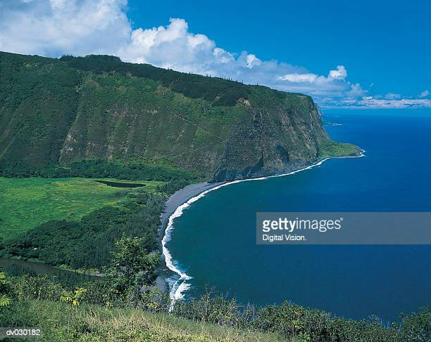 waipio valley, hawaii, hawaiian islands - waipio valley stockfoto's en -beelden