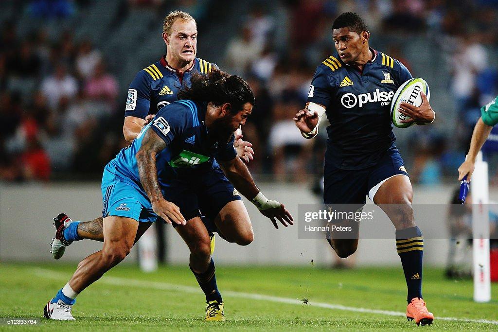 Super Rugby Rd 1 - Blues v Highlanders