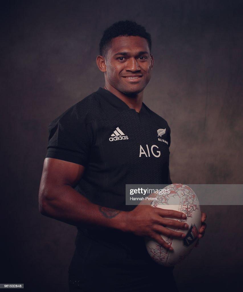 2018 New Zealand All Blacks Portraits Session