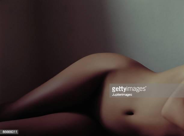 Waist Down Reclining Nude Woman