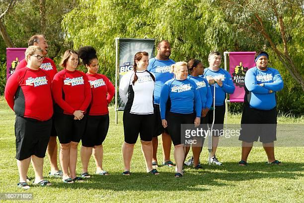 "Waist & Money"" Episode 1405 -- Pictured: Jackson Carter, Joe Ostaszewski, Lisa Rambo, Francelina Morillo, Dannielle ""Danni"" Allen, Michael Dorsey,..."