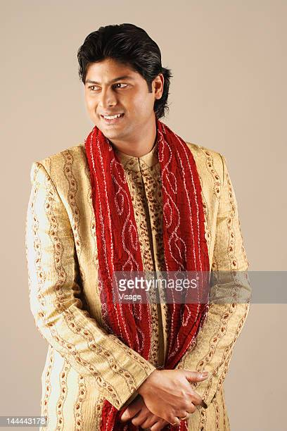 waist-up of a male model - indian male model stock-fotos und bilder