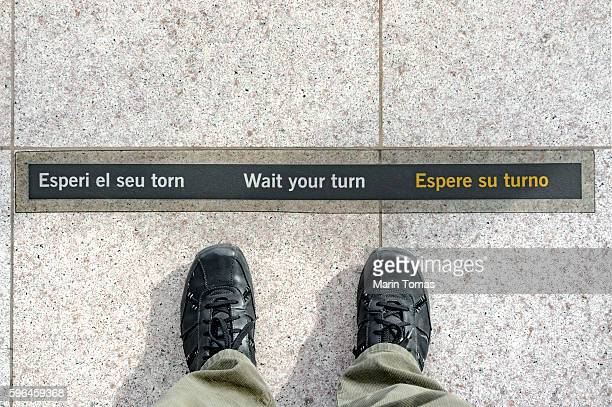 wait your turn - building story stock pictures, royalty-free photos & images