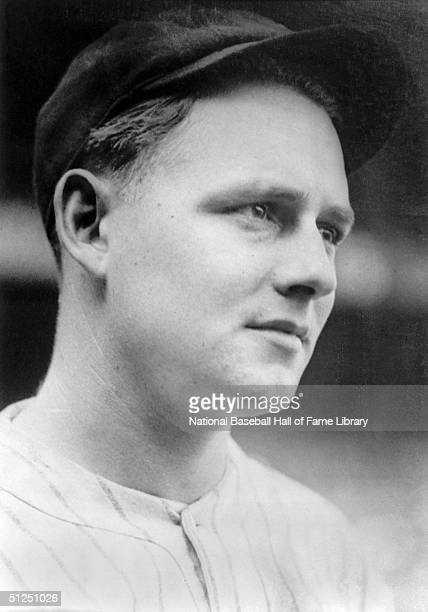 Waite Hoyt of the New York Yankees poses for a portrait.