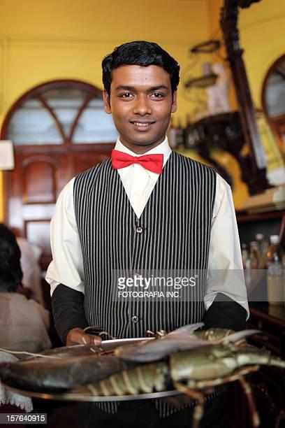 Waiter in Panjim