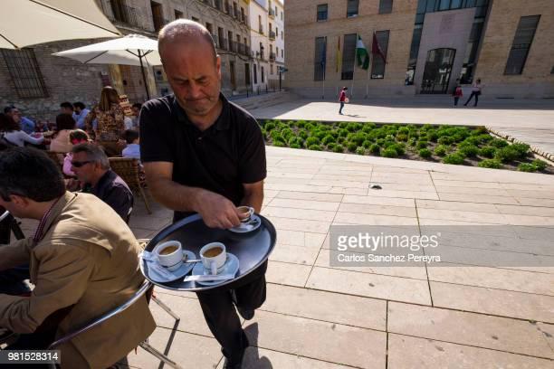 waiter in Spain