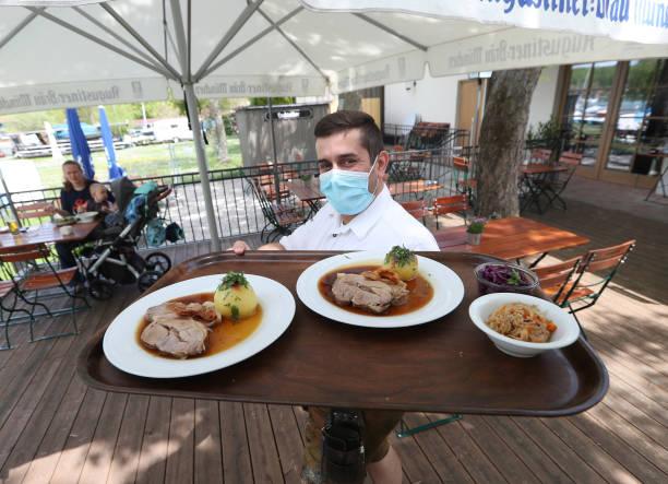 DEU: Bavaria Begins Opening Beer Gardens As Lockdown Measures Ease