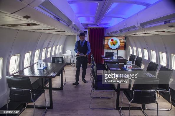 Boeing 747 400 Airplane Converted Into A Restaurant In
