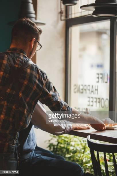 Serveur du petit déjeuner