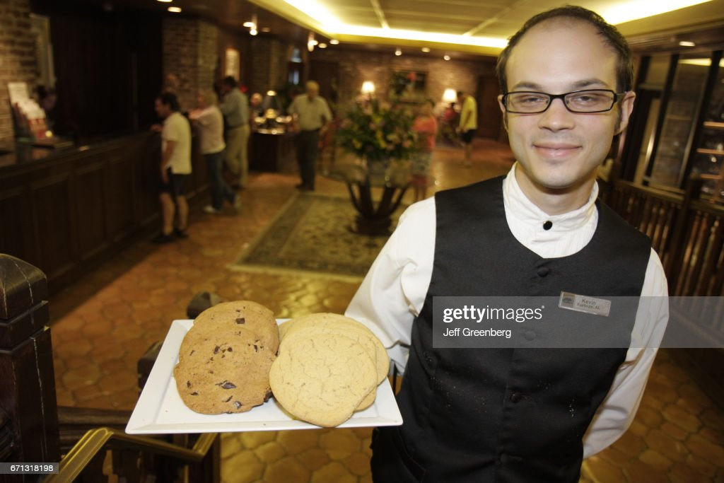 A Waiter Serving Cookies At The The Grand Hotel Marriott Resort News Photo Getty Images