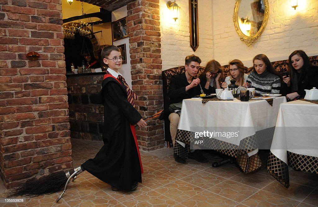 Waiters Costumed As Characters Of The Famous Series Of Fantasy Harry News Photo Getty Images