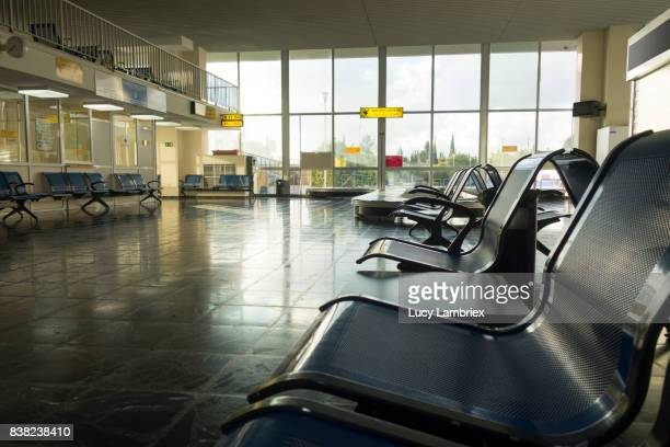 Waiting area at airport