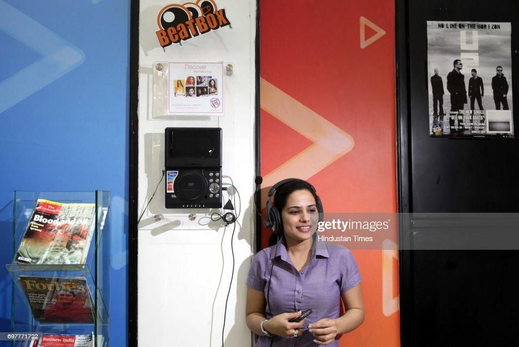 Waiting area of Hungama Digital Media Entertainment in