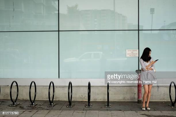 Waiting at Brighouse Terminal Richmond