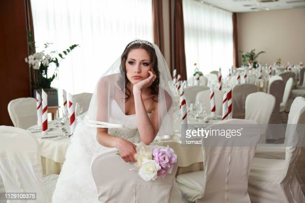 waiting bride - bride stock photos and pictures