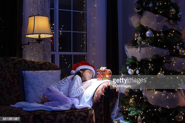 waiting for christmas - night before stock photos and pictures