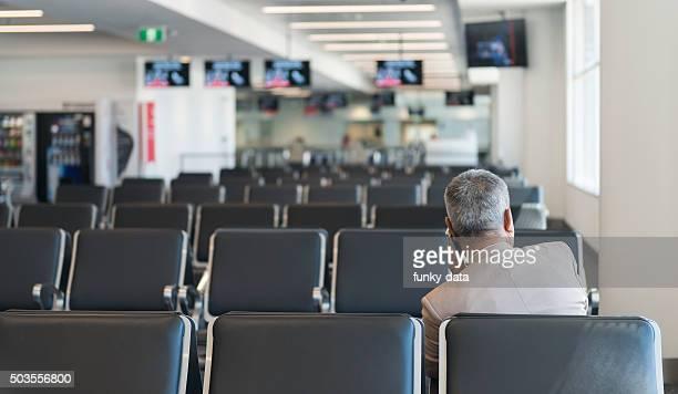 Waiting for flight