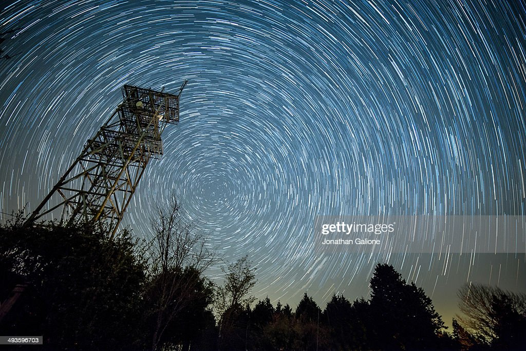 Waiting for meteors. : Stock Photo