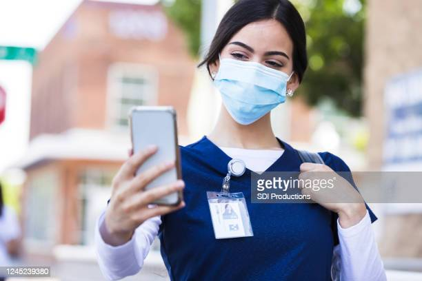 Nurse Selfie Photos and Premium High Res Pictures - Getty