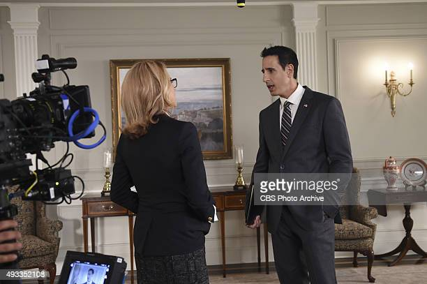 Waiting for TalejuBehind the scenes of the CBS drama MADAM SECRETARY scheduled to air on the CBS Television Network Pictured LR Téa Leoni and Julian...