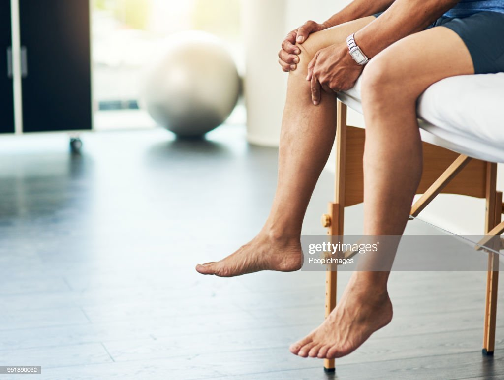 Waiting for the doctor : Stock Photo