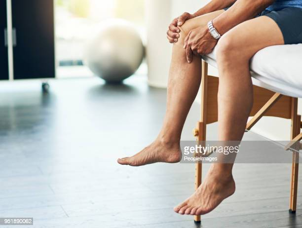 waiting for the doctor - leg stock pictures, royalty-free photos & images