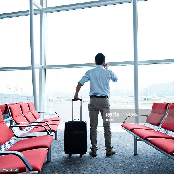 waiting for the flight