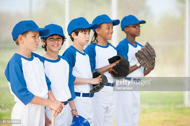 waiting for the game to start - baseball team stock pictures, royalty-free photos & images