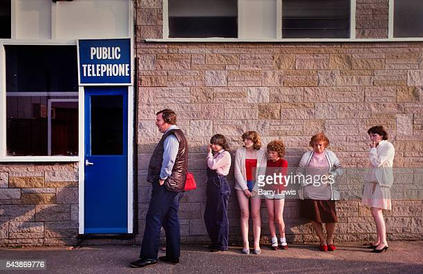 Waiting for the payphone Butlins Holiday camp Skegness Butlins Skegness is a holiday camp located in Ingoldmells near Skegness in Lincolnshire Sir...