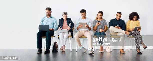 waiting for their chance to shine - unemployment stock photos and pictures
