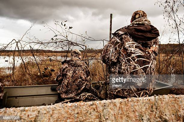 Waiting in the Duck Blind