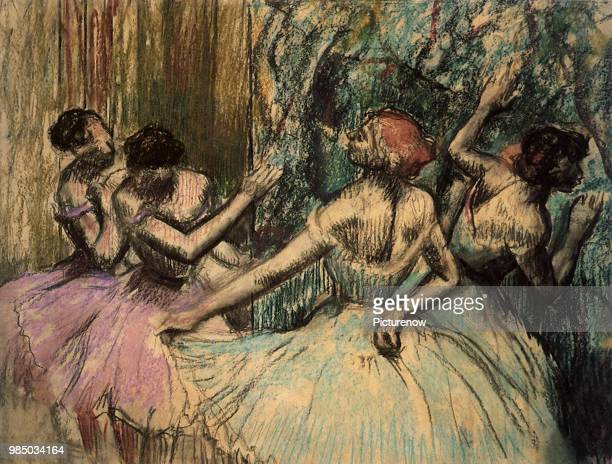 Waiting in the Wings Degas Edgar