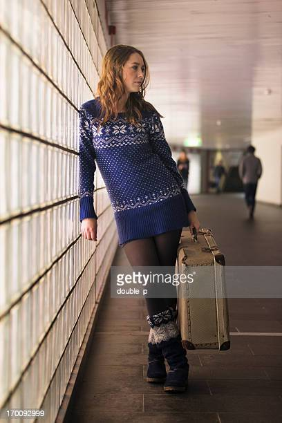 waiting - long legs short skirts stock photos and pictures