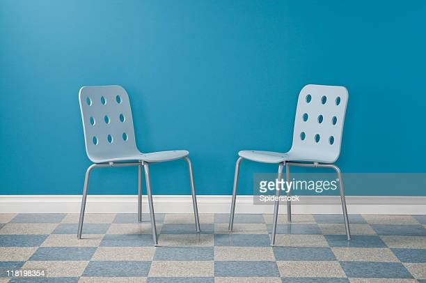 waiting room - two objects stock photos and pictures