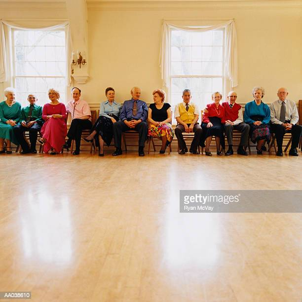waiting to dance - medium group of people stock pictures, royalty-free photos & images