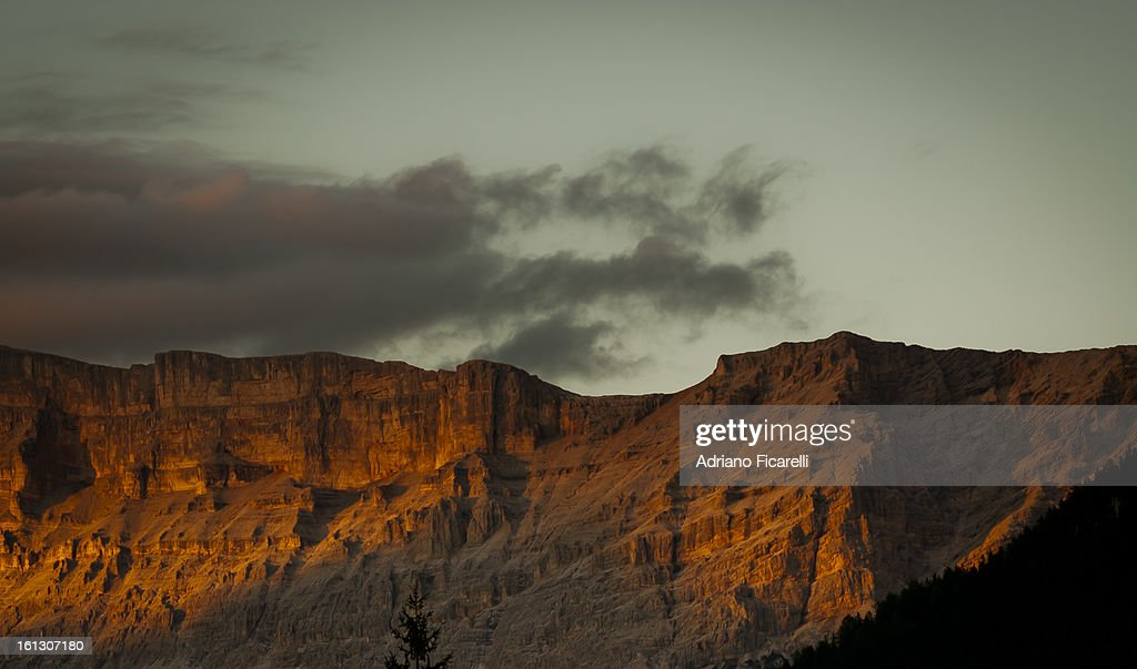 Waiting to return (Dolomiti) : Stock Photo
