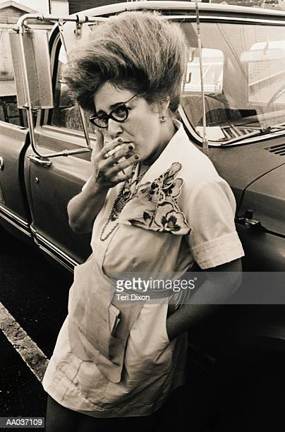 Waitress on a Smoke Break