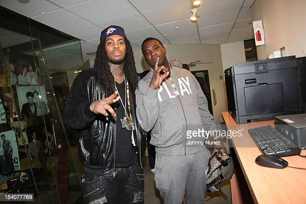 Waka Flocka Flame and Gucci Mane invade The Whoolywood Shuffle at SiriusXM Studios on October 8 2012 in New York City