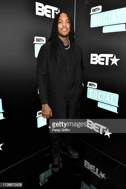 Waka Flocka Flame attends the 2019 BET Social Awards at Tyler Perry Studio on March 3 2019 in Atlanta Georgia