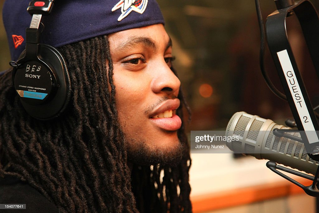 Waka Flocka Flame invades 'The Whoolywood Shuffle' at SiriusXM Studios on October 8, 2012 in New York City.