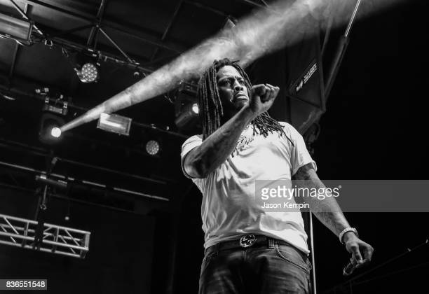 Waka Flocka Flame performs on August 20 2017 in Wantagh City