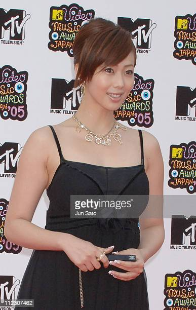 Waka Inoue during MTV Video Music Awards Japan 2005 Outside Arrivals at Tokyo Bay NK Hall in Urayasu Japan