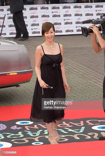 Waka Inoue during MTV Video Music Awards Japan 2005 Red Carpet at Tokyo Bay NK Hall in Urayasu Japan