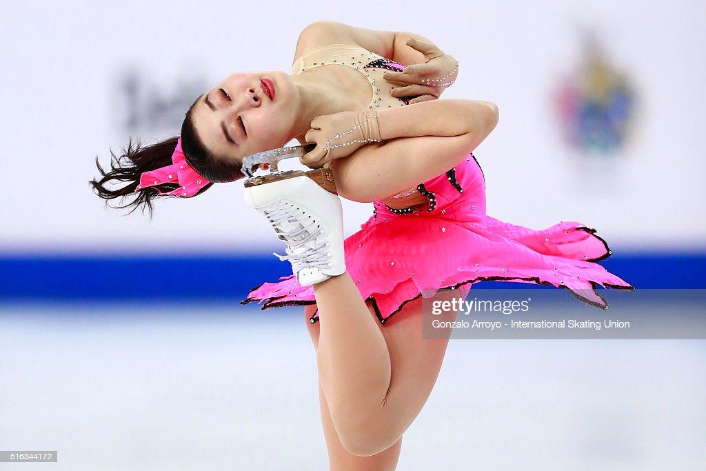 World Junior Figure Skating Championships 2016 Debrecen - Day 3