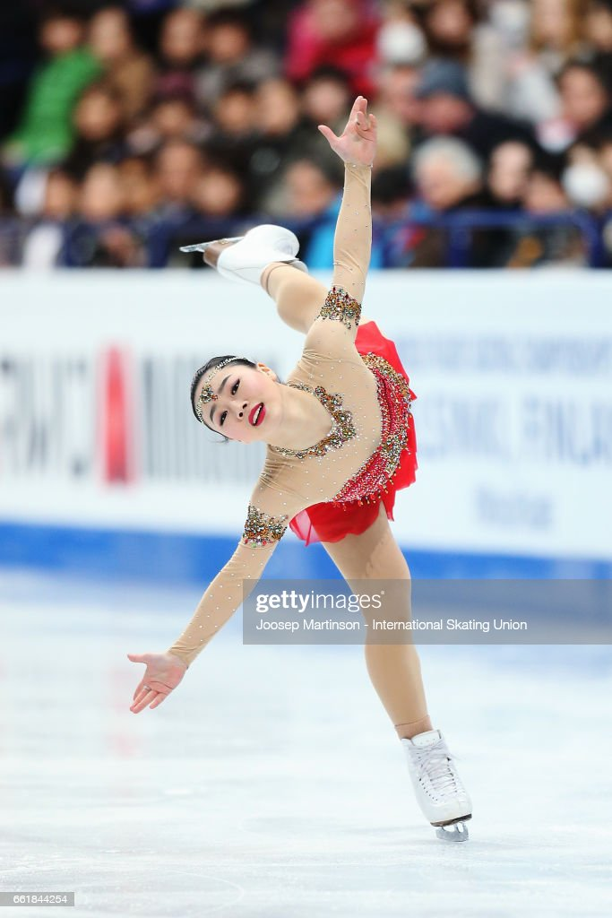 World Figure Skating Championships - Helsinki Day 3