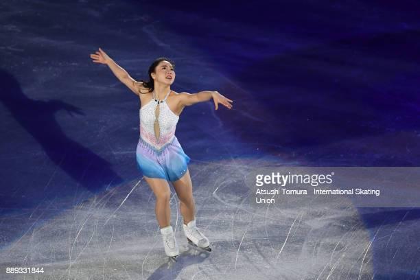 Wakaba Higuchi of Japan perfoms her routine in the Gala exhibition during the ISU Junior Senior Grand Prix of Figure Skating Final at Nippon Gaishi...