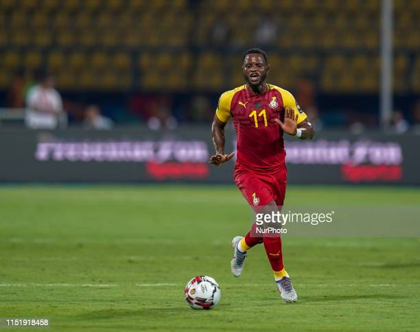 Wakaso Mubarak of Ghana during the 2019 African Cup of Nations match between Ghana and Benin at the Ismailia stadium in Ismailia, Egypt on June...