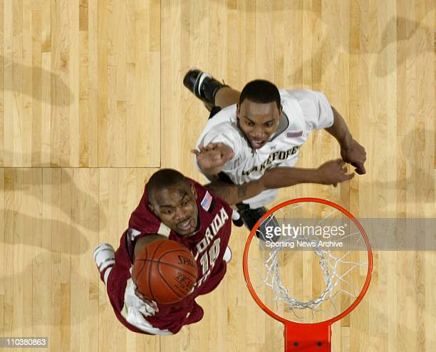 Wake Forest against Florida State RALPH MIMS on March 13 2008 in Charlotte NC during the ACC Tournament Florida State won 7060