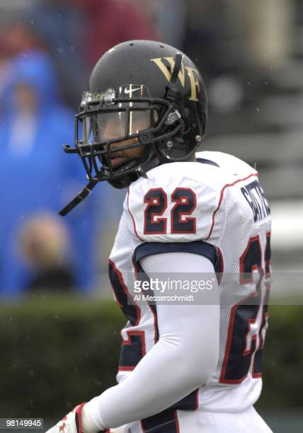 Wake Forest defensive back Josh Gattis before the 2007 Under Armour Senior Bowl game at LaddPeebles Stadium Mobile Alabama January 27 2007