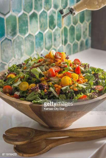 Wake up a salad with coldbrew coffee vinaigrette